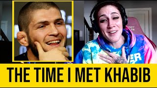 The Time I met Khabib..I didn't know..