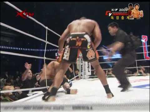 Overeem vs Kazuyuki Fujita Alistair Overeem vs Kazuyuki
