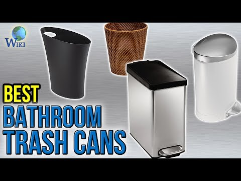 10 Best Bathroom Trash Cans 2017