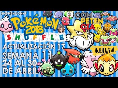 Pokémon Shuffle: abril 24 a abril 30 [actualización 17 (2018) / semana 11] | Shonen JohnP