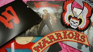 WARRIORS Limited Deluxe Edition Soundtrack Vinyl Waxwork Unboxing Colored Walter Hill