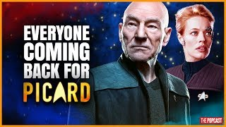 Star Trek Characters revealed! Who is coming back for Picard?