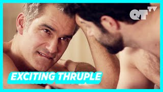 Bisexual Man Introduces His Boyfriend To His Girlfriend & Things Get Hot | Gay Drama | 'I Love U 2'