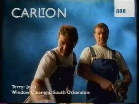 UK TV Advert Block + Continuity Link ITV - 17/03/94