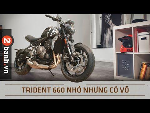 Đánh giá Triumph Trident - mô tô giá rẻ nhưng đầy công nghệ cao cấp   2banh Review