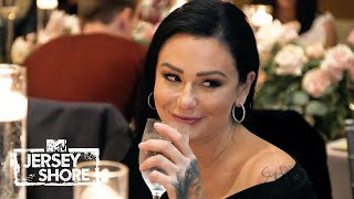 Awkward! Angelina's Rehearsal Dinner Brings Tension for PWoww | Jersey Shore: Family Vacation