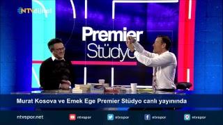 Murat Kosova ve Emek Ege Premier Stüdyo canlı yayınında sorularınızı bekliyor