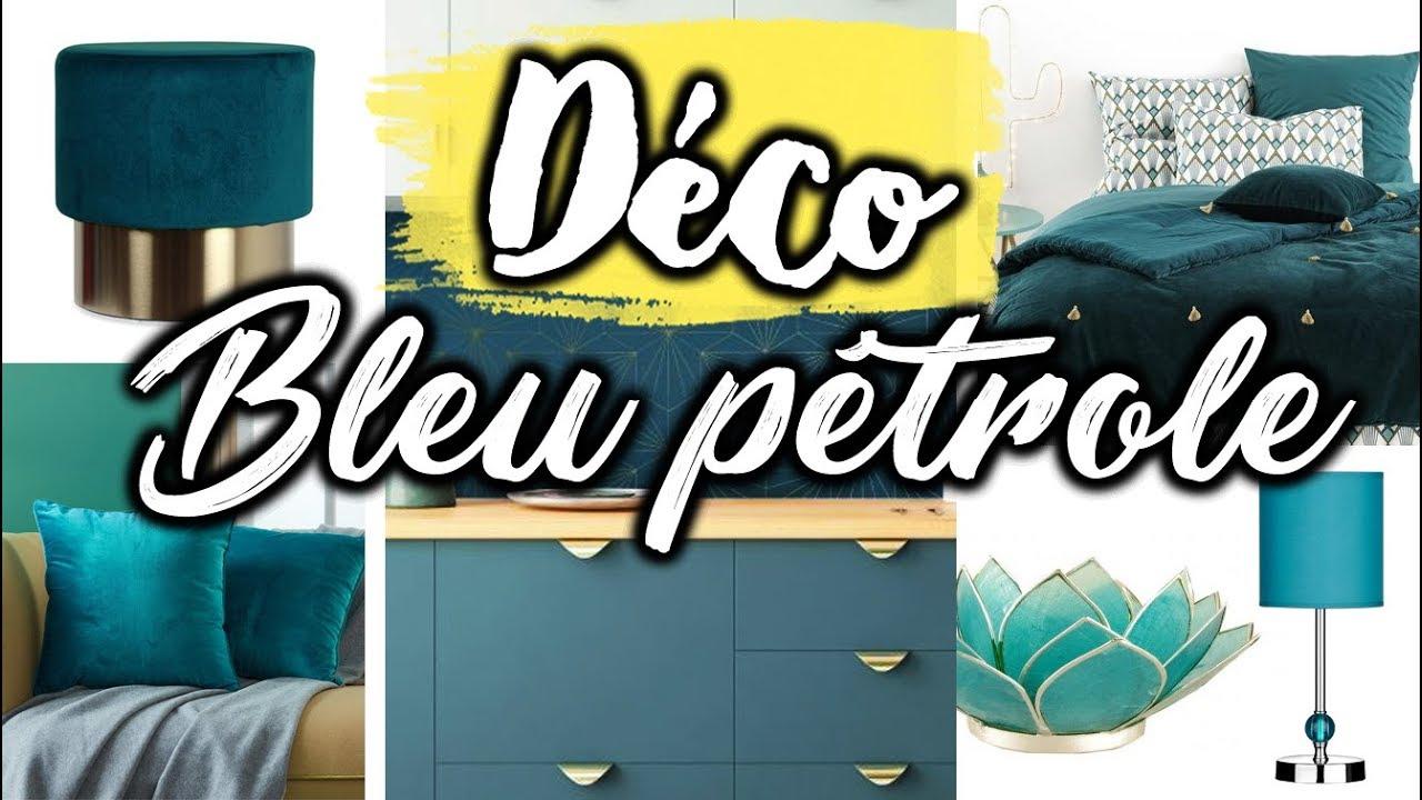 Idee Deco Suspension Salon bleu canard - couleur déco