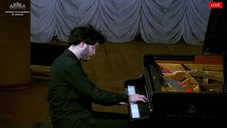 "Ligeti - Études No. 3 ""Touches bloquées"" performed by Antonii Baryshevskyi"
