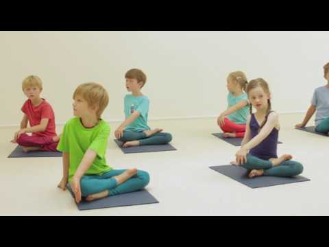 Creative Yoga Games for Kids - Rock a Bye Baby