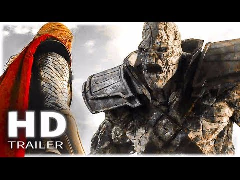 THOR vs STONE GIANT Movie Clip + THOR 3: Ragnarok Trailer (2017) Marvel
