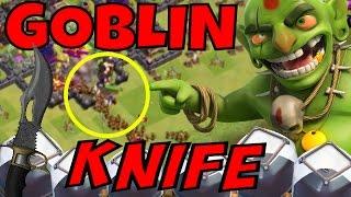 FARM FAST DARK ELIXIR with GOBLIN knife! CHEAP & POWERFUL [Clash Of Clans]