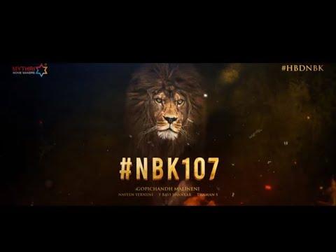#NBK107 - Nandamuri Balakrishna   Gopichandh Malineni   Thaman S   Mythri Movie Makers