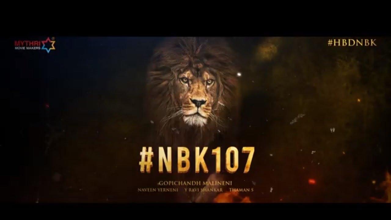 #NBK107 - Nandamuri Balakrishna | Gopichandh Malineni | Thaman S | Mythri Movie Makers