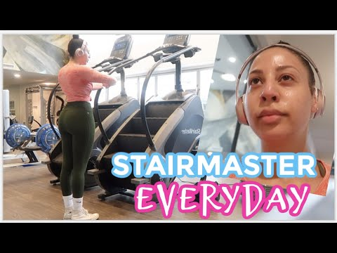 Doing The Stairmaster EVERYDAY // Weight Loss Vlog - YouTube