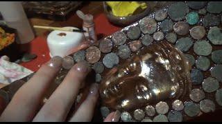 Parvati, Earth- Asmr Resin Art Painting- whispering/ relaxation