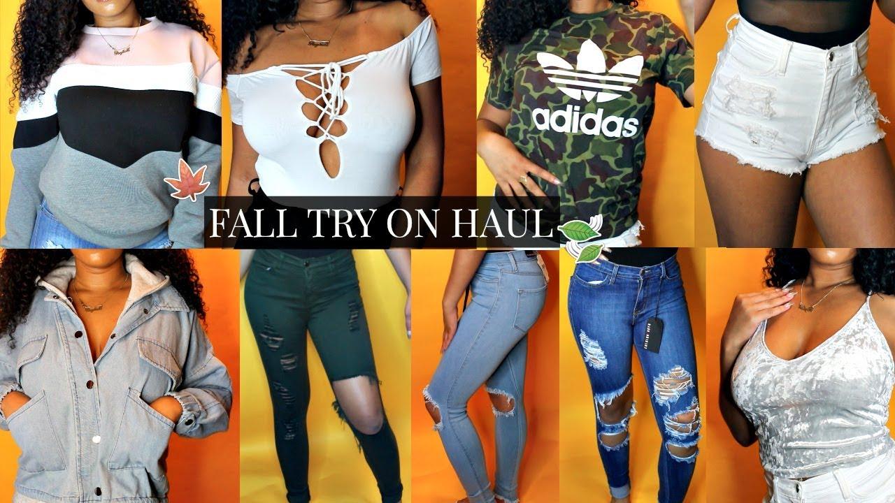 f1a06e9ee438 HUGE Fall Try-On Haul 2017! (Fashion Nova