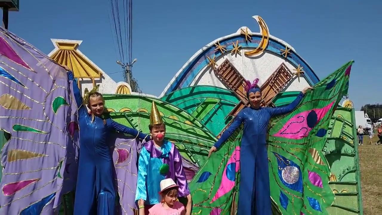 Весёлый колорит праздника! Сорочинский ярмарок 2018.