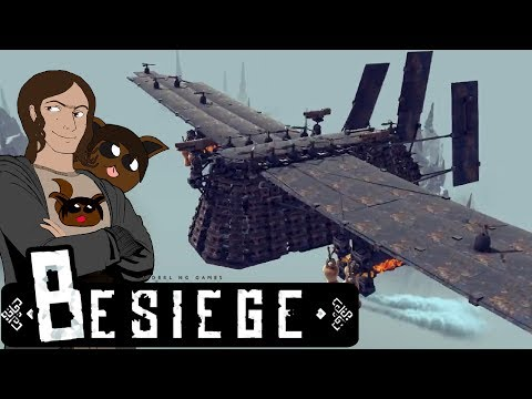 Besiege  - Sky Behemoth Survival!