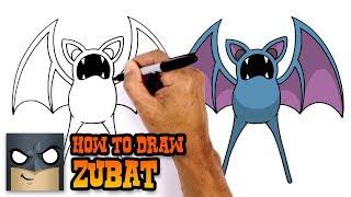 How to Draw Zubat | Pokemon