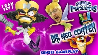 Dr. Neo Cortex Gameplay!  I CAN FLY!!  Skylanders Imaginators Thumpin' Wumpa Islands Adventure Pack
