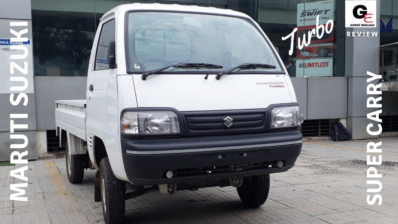 Maruti Suzuki Super Carry Turbo Detailed Review Features Specs Price Youtube