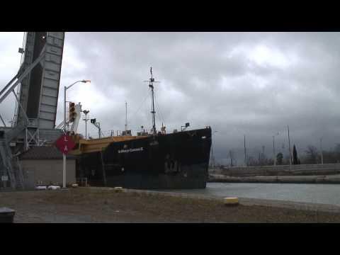 Sea Eagle II & St Marys Cement II,  Welland Canal Lock 1