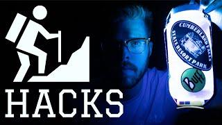 Hacks for Backpacking