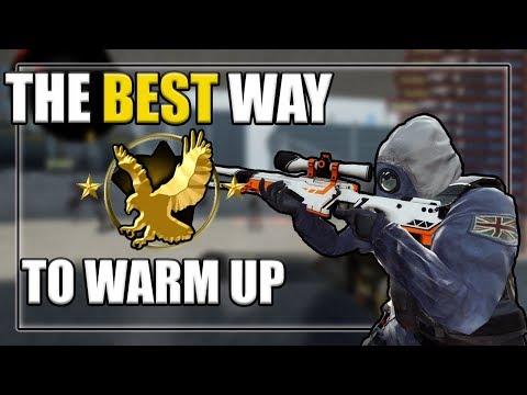 Best CSGO Warmup Routine (Practice Aim/Spray/Etc)