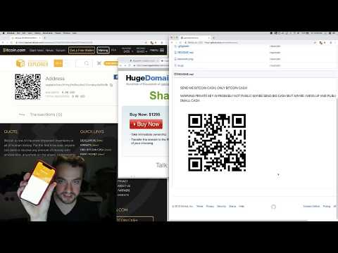 George Hotz | Programming | keep trying to send a transaction with BITCOIN CASH from SCRATCH part2