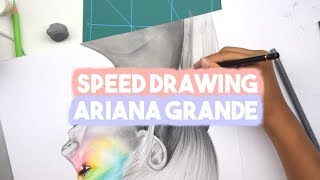 Speed drawing, Ariana Grande