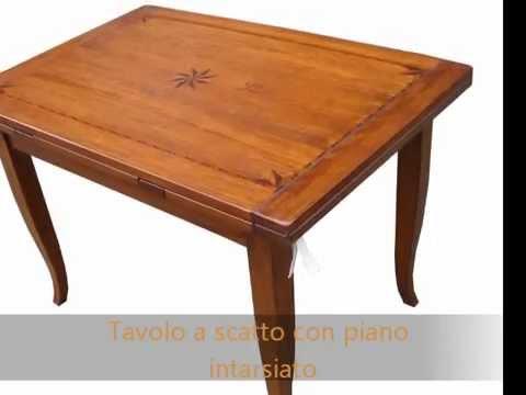 Tavolo tavoli artigianali in legno vecchio apribili - Tavoli in legno vecchio ...