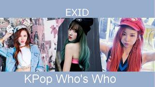 Kpop Who's Who - EXID (2012 - 2016)