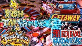 WILLIAMS Pinball FX3 Volume 1 Ya Disponible!! | IMPRESIONES y Desafío 1 Bola