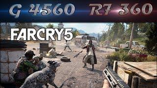Far Cry 5 (R7 360 2GB + Pentium G4560) 1080p, 900p e 768p | Gameplay Benchmarks