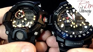 Casio G-Shock Rangeman VS Casio G-Shock Gulfmaster