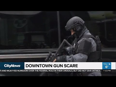 Gun Scare Shuts Down Stretch Of King Street West