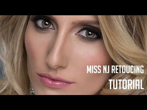 Photoshop Retouch of a Miss NJ Portrait from Start to Finish