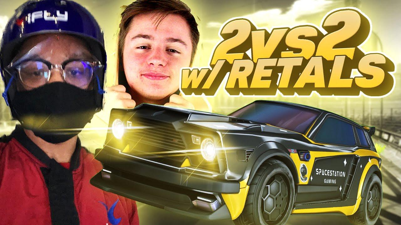 Download Going Against The Best 2v2 Player In Rocket League!   Pro Level 2v2
