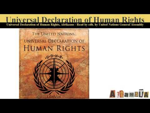 Universal Declaration of Human Rights, Volume 01