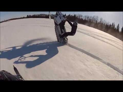 Duck Mountain Sledding - The Cabin