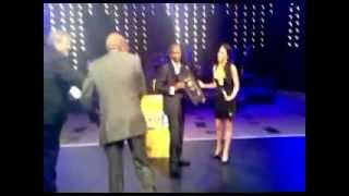 Ba2cada receiving 2012 MTN Radio Award