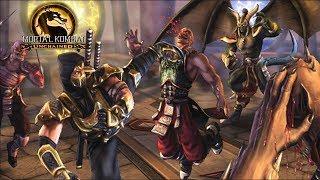 Mortal kombat Unchained SCORPION - (VERY HARD) - (PSP)【TAS】