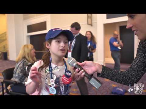 11-Year-Old Trump Girl At CPAC Is Smarter Than Most College Students