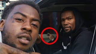 Kevin Durant CAUGHT Smoking Weed by a Warriors Fan!?