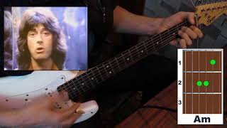 Скачать Rainbow Stone Cold Simple Chords простые аккорды