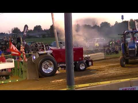 HSTPA LIGHT PRO STOCK TRACTORS LYNN, IN LIONS CLUB PULL SEPT 9TH 2017