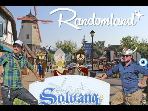 One Weird Fantasyland - Solvang, California! - Randomland