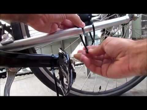 How to install Garmin GSC-10 speed / cadence sensor in your bike