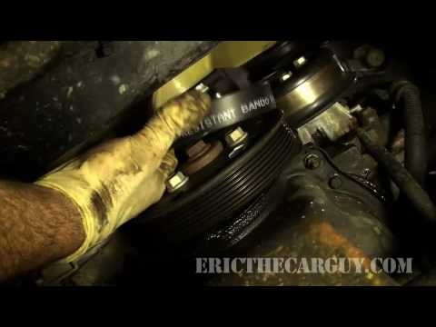 how to replace a serpentine belt ericthecarguy youtube rh youtube com